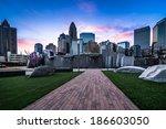 romare bearden park in uptown... | Shutterstock . vector #186603050