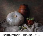 Still Life With Pumpkin And...