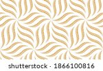 the geometric pattern with wavy ...   Shutterstock .eps vector #1866100816