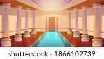 greek temple  roman...   Shutterstock .eps vector #1866102739