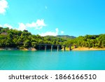 Tidy View Of Gerosa Lake With A ...