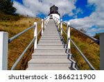 Stairs To Owl's Head Light In...
