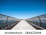 empty pier 14 in san francisco... | Shutterstock . vector #186622646