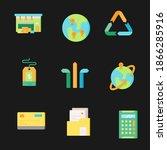 global data sharing data...   Shutterstock .eps vector #1866285916