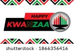 happy kwanzaa. is an annual... | Shutterstock .eps vector #1866356416