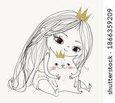 Little Lovely Princess Girl...