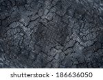 Surface Of Wood Charcoal