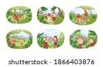 set of different people... | Shutterstock .eps vector #1866403876