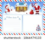Letter To Santa Claus Template...