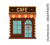 vector illustration of cafe...   Shutterstock .eps vector #1866493696