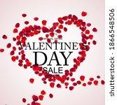 valentines day sale  discount...   Shutterstock .eps vector #1866548506