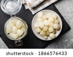 Pickled Mini Baby Onions In Jar ...