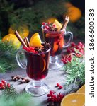 Christmas Hot Mulled Wine With...
