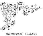element for design  corner... | Shutterstock .eps vector #1866691