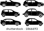Stock vector silhouette cars vector illustration 1866693