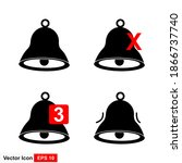 notification bell icon design...
