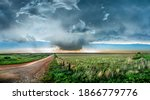 Panoramic Image Of A Large ...