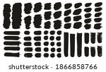 round brush thick short... | Shutterstock .eps vector #1866858766