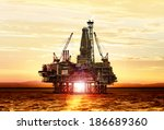 Gas Production On The Sea At...