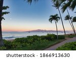 Twilight View Of Molokai From...