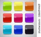 colored application icons for... | Shutterstock .eps vector #186694469