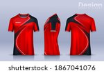 t shirt sport design template ... | Shutterstock .eps vector #1867041076