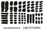 round brush thick short... | Shutterstock .eps vector #1867076890
