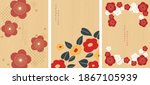 set of flower icons with... | Shutterstock .eps vector #1867105939