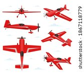 Aerobatic Aircraft In Different ...