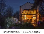 Conservatory With Christmas...