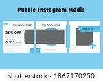 medical medical instagram... | Shutterstock .eps vector #1867170250