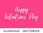 happy valentines day greeting...   Shutterstock .eps vector #1867208356