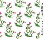 watercolor seamless pattern...   Shutterstock . vector #1867304806