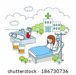 illustration of medical science | Shutterstock . vector #186730736