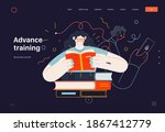 business topics   advance...   Shutterstock .eps vector #1867412779