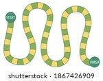 vector boardgame template.... | Shutterstock .eps vector #1867426909