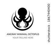 This Is Angry Octopus Logo...