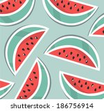 pattern background with... | Shutterstock .eps vector #186756914