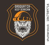 Bigfoot Or Sasquatch Design....