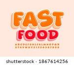 vector tasty logo fast food...   Shutterstock .eps vector #1867614256