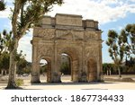 triumphal arch of orange from 1850