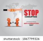 international anti corruption...   Shutterstock .eps vector #1867799326