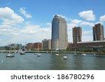new york city   august 8 ... | Shutterstock . vector #186780296