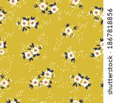 beautiful floral pattern of... | Shutterstock .eps vector #1867818856