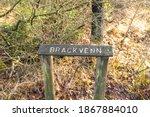 Information Sign Brackvenn On...