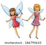 fairies  | Shutterstock .eps vector #186790610