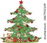 christmas tree decoration ...