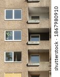 A Vertical Shot Of A Building...