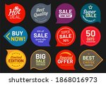 sale quality badges. quality...   Shutterstock . vector #1868016973