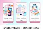 online education mobile app...